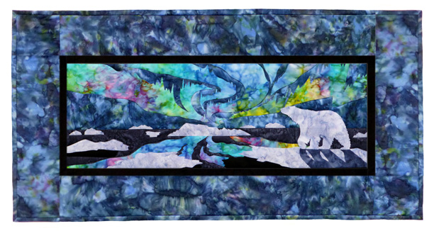 Aurora Nights: In the Arctic Individual Wallhanging