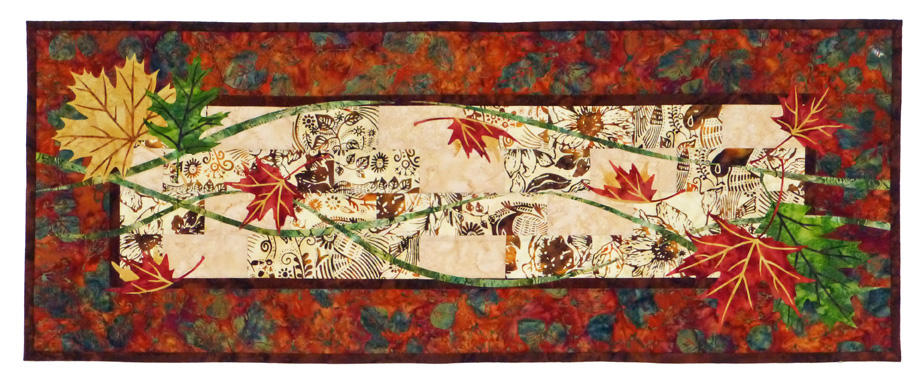 Autumn Breeze Tablerunner