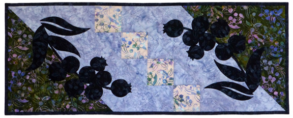 Blueberry Fields Tablerunner