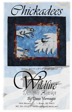 Chickadees Pattern Cover