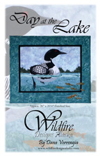 Day at the Lake Pattern Cover