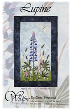 Lupine Pattern Cover
