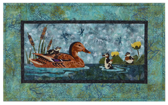 River Run: Taking a Dip Individual Wallhanging
