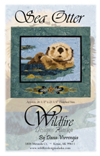 Sea Otter Pattern Cover