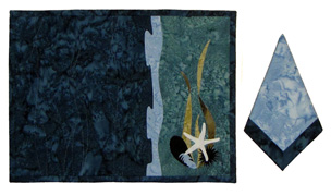 Tide Pool Placemats & Napkins