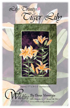 Tiger Lily Pattern Cover
